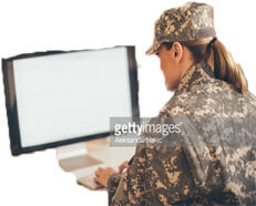 Soldier Applying for Loan